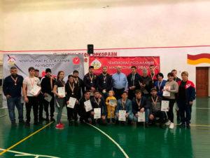 19 января состоялся Чемпионат РСО-Алания по мас-рестлингу (ивазæнтæ) среди мужчин и женщин старше 18 лет и Чемпионат по чъопп (лянга, жошка).