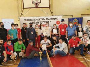 18 октября в г. Владикавказ прошло Открытое Первенство г.Владикавказ по мас-рестлингу